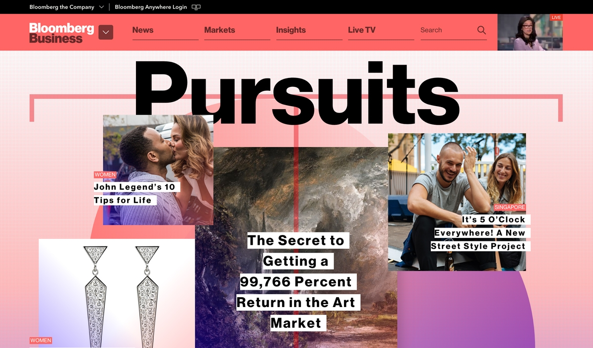 Pursuit Bloomberg - cover