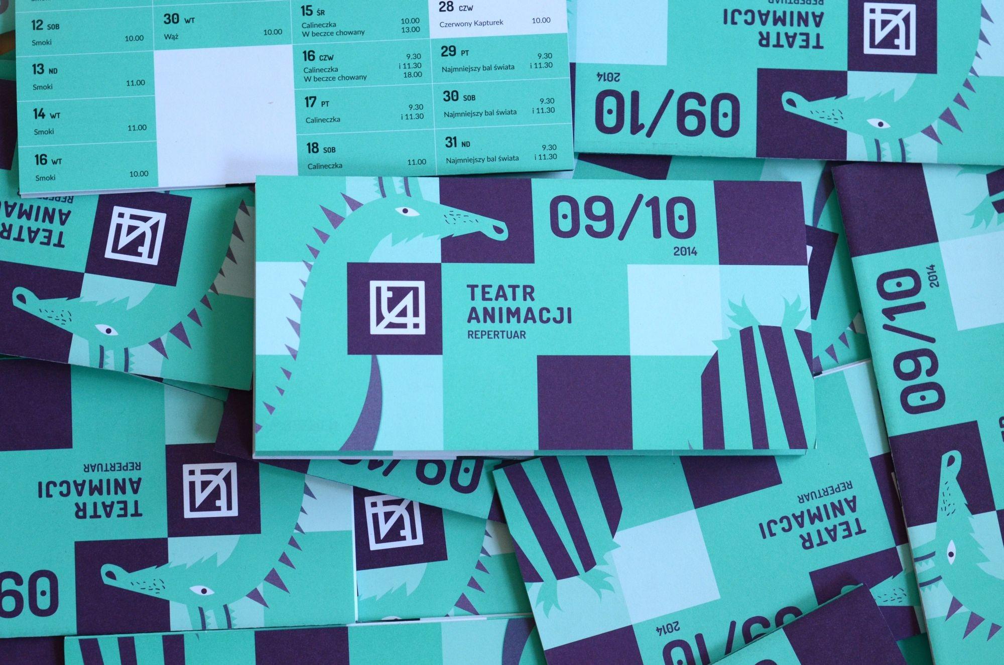 Teatr Animacji w Poznaniu - nowa identyfikacja wizualna