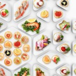 Naczynia dla cateringu zaprojektowane przez Katarzynę Borkowską