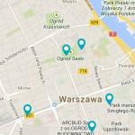 plikacja FUTU prezentuje 400 projektów dla Warszawy przyszłości z zakresu architektury, urbanistyki i sztukiw przestrzeni publicznej.