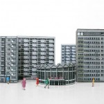 Warszawa - wycinanka modernistycznych ikon architektury autorstwa Zupagrafika