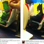 Takie rzeczy robi ilustrator October Jones jak mu się nudzi w pociągu:)
