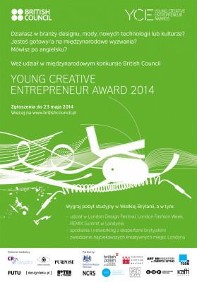 Ruszyła polska edycja międzynarodowych konkursów British Council dla młodych przedsiębiorców w dziedzinie designu i mody oraz w obszarze kultury