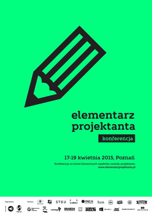Elementarz projektanta - plakat