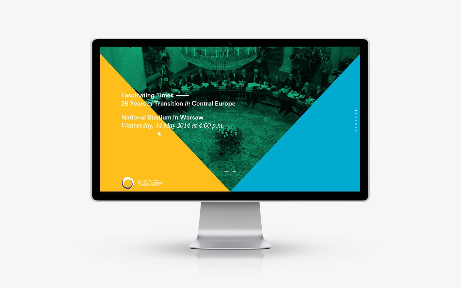 Inspirująca strona internetowa - polski webdesign