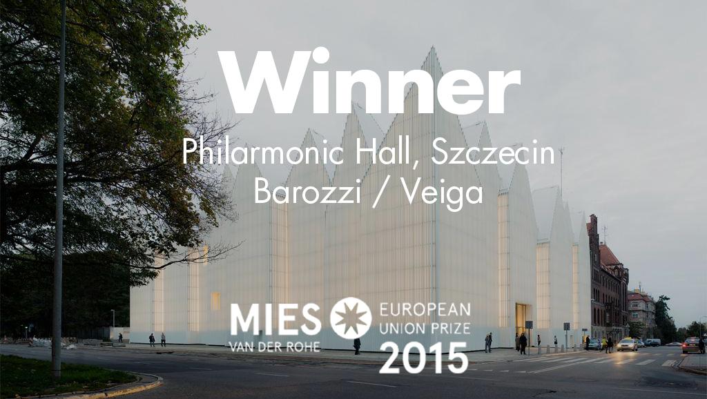 Filharmonia w Szczecinie zdobywa nagrodę Miesa van der Rohe 2015